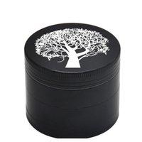 شجرة محظوظ نمط التبغ المطاحن ضياء. 50 ملليمتر 4 طبقات الكرتون نمط المعادن عشب طاحونة التوابل الفلفل كسارة ج jllfyf bdebag