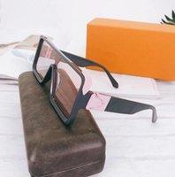 2021 Brand Mens Occhiali da sole rotondi Designer Glasses Eyewear Gold Frame Obiettivo Vetro Occhiali da sole Designer Brand Designer Occhiali da sole Occhiali rotondi