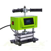 الجملة AP1907 تويست دليل الصنوبرية آلة الصحافة المزدوج لوحة التدفئة الحرارة آلة الضغط المزدوج التدفئة النفط الشمع عشبة القشاب استخراج أداة