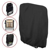 Stoelhoezen Cover Oxford Waterdicht Vouwen Recliner Hood UV-Weerstand voor Outdoor Camping Meubilair Opbergtas