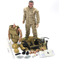 Brinquedo soldados garagem kit ação removível uniforme exércitos figuras articuladas boneca soldado militar modelo meninos crianças brinquedos