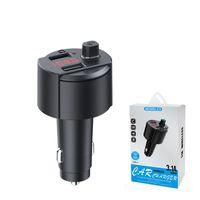 OEM شاحن سيارة الهاتف السريع اللاسلكي مفتاح التحكم في مفتاح مشغل MP3 شاحن سيارة Eletronic مع منفذ USB ل IOS / Android