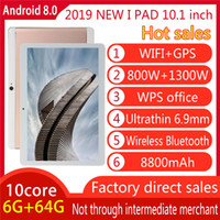 Octa Core 10,1 Zoll Tablet PC IPS Kapazitiver Touchscreen Dual Sim 3G Phablet Telefon Android Wifi GPS WIFI FM-Kinderlernmaschine