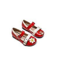 Spring Style Nieuwe Top Laag Koeienhuid Schoenen Handgemaakte Lederen Schoenen Cut Prinses Schoen Lederen Schoenen Maat 23-32