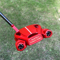 Gratis Snabb leverans Toppkvalitet Röd färg Spindel Golf Putter 33 34 35 inches Tillgänglig 3 Färger Alternativ Real Photos Kontakta säljare