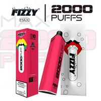 2021 Nouvelle Arrivée Fizzy Max 2000Puff haute qualité Jaute Vape stylo E cigarette E cig Vape expédition rapide