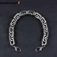 BAMADER sac à main chaîne sac longueur de la sangle 40 / 60CM Chaînes Bracelet Appliquer aux femmes Nuage Sacs de haute qualité Poignée Accessoires en métal Diy