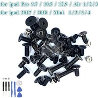 1Pcs Main Board Full Screws Set With Bottom Dock Screws for iPad Pro 9.7 10.5 12.9 Air Mini 1 2 3 4 2017 2018 Replacement Parts