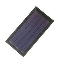 Buheshui painel solar flexível 1W 6v amorfo solar diy telefones celulares dobrável carregador solar 10pcs / lote frete grátis