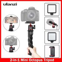 Ulanzi MT-11 Soporte de trípode flexible de pulpo flexible 2-IN-1 Diseño de plataforma 360 ° Ball cabeza de bolas para teléfono inteligente DSLR SLR VLOG Tripod1