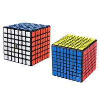 Moyu Meilong Speedcube أسود ملصق 6x6x6 7x7x7 8x8x8 مكعب ماجيك 4x4 5x5 6x6 7x7 8x8 سرعة لغز لعبة تعليمية لعبة الأطفال 201219