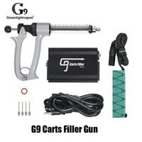 Authentic GreenlightVapes G9 Machine de remplissage d'armes à pistolet épais Dispositif de remplissage de vape automatique pour 510 filetage Paniers Cartouche Véritable