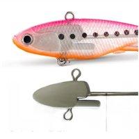 1 unids SILE VIB JIG gancho whopper suave 9,5 cm / 11.5cm cebo pesca señuelo fake cebo paquete plomo pescado suave Vib l L SQCLBH