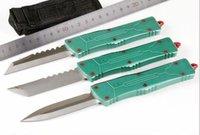 Trow A10 CNC Jedi 7 CR17MOV Алюминиевый двойной Двойной Двойной Актериал Тактическая самооборона Складной EDC Нож для кемпинга Ножи охотничьи ножи Карманный инструмент
