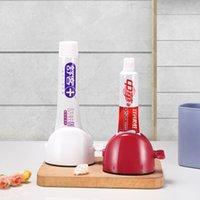 1pc vendita calda in plastica pigro manuale dentifricio toothpaste squeezer purificatore facciale spremere dispensatore a risparmio di lavoro conveniente strumenti da bagno