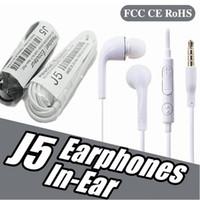 جودة الصوت J5 EG900 سماعة 3.5 ملليمتر في الأذن سماعات ميكروفون سماعات لهواوي xiaomi samsung s6 s7 s8 s9
