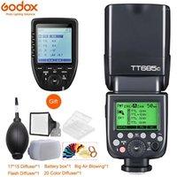 Godox685685c685n685s685f685o 1/8000sl flash speedlite com gatilho XPRO para Fuji1