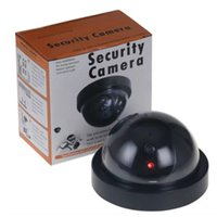 Neue Fälschungs-blinde Kamera Dome Indoor Outdoor Simulations-Kamera-Home Security Surveillance Simulierte Kamera LED-Monitor