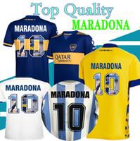 1997 98 Retro Classic Boca Juniors Home Alow Weew Away 3rd 2020 2021 Boca Junior Retro Jersey Jersey Diego Maradona Camisa de Fútbol