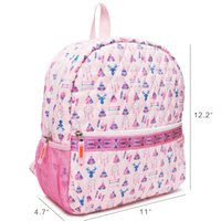 GB001 Boy School Girl Tent Gabigaba Pink Bag Kids Navy Quilted Book For With Toddler Good Quality Backpack Mesh Pockets Aztec Vgfkq