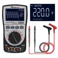 Multimètre à oscilloscope numérique intelligent de Mustool à niveau 2 en 1 MT8206 avec l'échantillonnage A / D haute vitesse de la barre analogique1