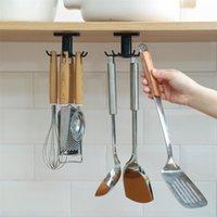 مطبخ هوك المنظم الحمام شماعات جدار طبق تجفيف الرف حامل ل غطاء الملحقات الطبخ خزانة التخزين خزانة الجرف
