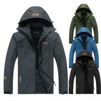 2020 ECTİK Erkek Kadın Sonbahar Açık Yürüyüş Ceketler Su Geçirmez Rüzgarlık İnce Tırmanma Kamp Yağmurluk Kayak
