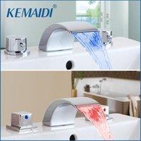 بالوعة الحمام الحنفيات كيميدي صنبور 3 قطع حوض الصمام حوض شلال تدفق المياه مرحاض خلاط صنبور نوعية جيدة