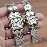 2021 Neue Mode Top Grade Frau Uhren 316L Edelstahl Quarz Rechteck Gold Diamant Armbanduhren Dame Geschenk Montres Reloj Orologios