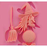 Halloween Sile Cake Biscuit Moule Sorcium Chocolate Candy Moule à haute température Diy Decoratio Wmtjza Hairclippershop