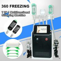 360 Cerco Cryo Cryolipolysis Máquina de congelamento de gordura Cryo emagrecimento Cryolipolisis 360 Máquina de congelamento de gordura Cavitação de perda de peso