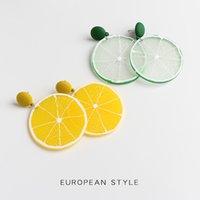 الصيف نمط الليمون الطازج للنساء 2020 الكورية مصنع الراتنج مبالغ فيها خزائن مجوهرات استرخى