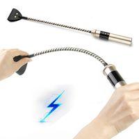 Electro G Shock Horse Whip USB recargable de pulso recargable esparcido látigo trasero juguetes sexuales para cpuples esclavo cosplay bdsm sext Shop Q1126