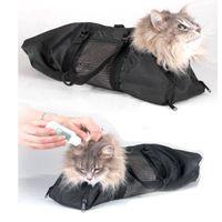 Portadores de gatos, Cajeras Casas Multifuncional Bolsa de asiento de asiento de restricción Cats de recorte de uñas Limpieza de proveedores de mascotas