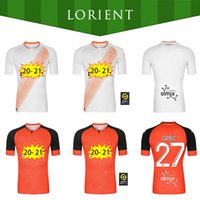 20 21 Maillots FC Lorient Soccer Jerseys Accueil 2020 2021 Maillot Lorient Hergault Umut Bozok Le Fee GRbic #Football Chemises