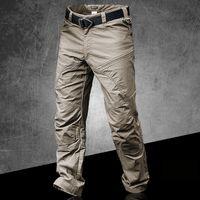 Significa impermeable pantalones tácticos masculinos jogger casual pantalones de carga para hombres casuales pantalones al aire libre senderismo ejército negro hombre pantalón casual