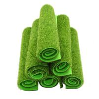 Искусственные луга травы газон газон трава самоль зеленые поддельные растения для сада декор здания модели поставки
