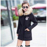 Mulheres para baixo parkas fitaylor inverno jaqueta mulheres espessas quentes com capuz parka mujer algodão acolchoado casaco longo parágrafo mais tamanho 3xl feminino feminino