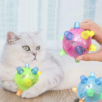 Pet Toys Jumping Activation Ball Pet Light Up Interactive Ball with Led Lights and Musical Toy for Small Medium Large Dog Cats1