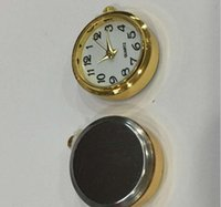 Métal 37mm Insertion Horloge la plus populaire Standand Taille Arabe Mini 37mm Gold Metal Insert Horloge Cadran arabe