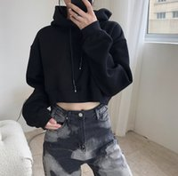 Curta-colheita 2021 New Upper Woman Sext Street Wear Hoodie Vintage Kpop Estilo D1ke Worth