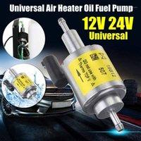 자동차 팬 고품질 저압 유니버셜 디젤 휘발유 전기 연료 펌프 12V 24V 공기 히터 오일 디젤 1