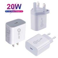 20W PD USB C Wandladegerät Leistung Lieferung Schnellladegerät Adapter Typ C Ladegerät Stecker Schnellladung für iPhone 12 11 Pro max