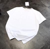 المرأة قميص الصيف جديد أزياء المرأة القمصان القطن chiara ferragni الترتر النمط الأوروبي السببية قصيرة الأكمام