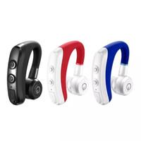 جودة عالية K5 سماعات بلوتوث لاسلكية CSR 4.1 واحد الأذن الأعمال ستيريو سماعات لاسلكية الأذن هوك سماعة سماعة