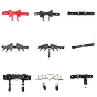 Sexy Women Elastic Leather Leg Ring Garter Belt Punk Heart Rivet Thigh Ring Goth Harajuku Harness Stockings Garter Q1214