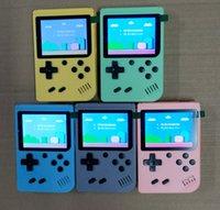 Taşınabilir Video Oyunu Oynatıcı Mini Oyunlar Konsolu El Oyun Kutusu 3.0 Inç Renkli LCD AV-Out 500 in 1 Klasik Retro Oyunlar En İyi