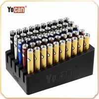 Оригинальный Йокан B-Smart Батарея 320mah Slim Twists VV Нижняя Регулируемое напряжение E CIG 510 Vape Pen с дисплеем Стенд 100% подлинный