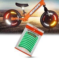 Велосипедные огни Детский набор колеса Светоотражающие наклейки с безопасными продуктами на улице декоративный круг предупреждающий лента N66