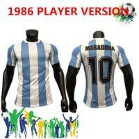 شحن مجاني الأرجنتين طبعة تذكارية سباق نادي دي avellaneda جيرسي مارادونا 10 قمصان كرة القدم الكلاسيكية الرجعية جيرسي الرئيسية
